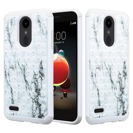 promo code 14358 e6199 LG Risio 3 Case,LG Rebel 3 LTE Case (L157BL), LG Fortune 2 Case, LG Zone 4  Case, LG K8 2018 Case Protective Hybrid Diamond Soft Silicone Phone Case ...