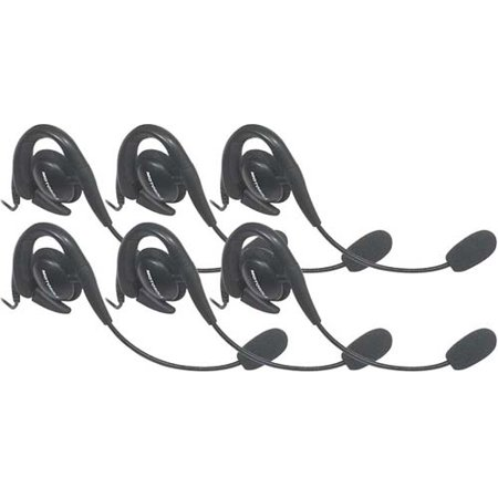 Motorola 56320 (6-Pack) Over-The-Ear Headset w/Boom Microphone