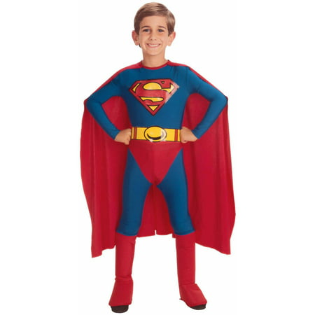 Superman Halloween Costume 4 Years - 25 Years Of Halloween