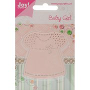Joy! Crafts Cut & Emboss Die -baby Girl