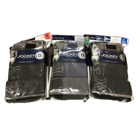 Jockey Outfit (Jockey Men's ActiveBlend Boxer Briefs with Stay New Technology - 4)