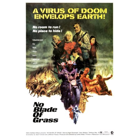 No Blade Of Grass Jean Wallace Nigel Davenport 1970 Movie Poster Masterprint