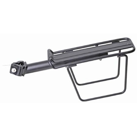 QR Beam Seat Post Mount Rack with pannier side rails, Tubular 6061-T6 alloy By (Tubular Side Case Racks)