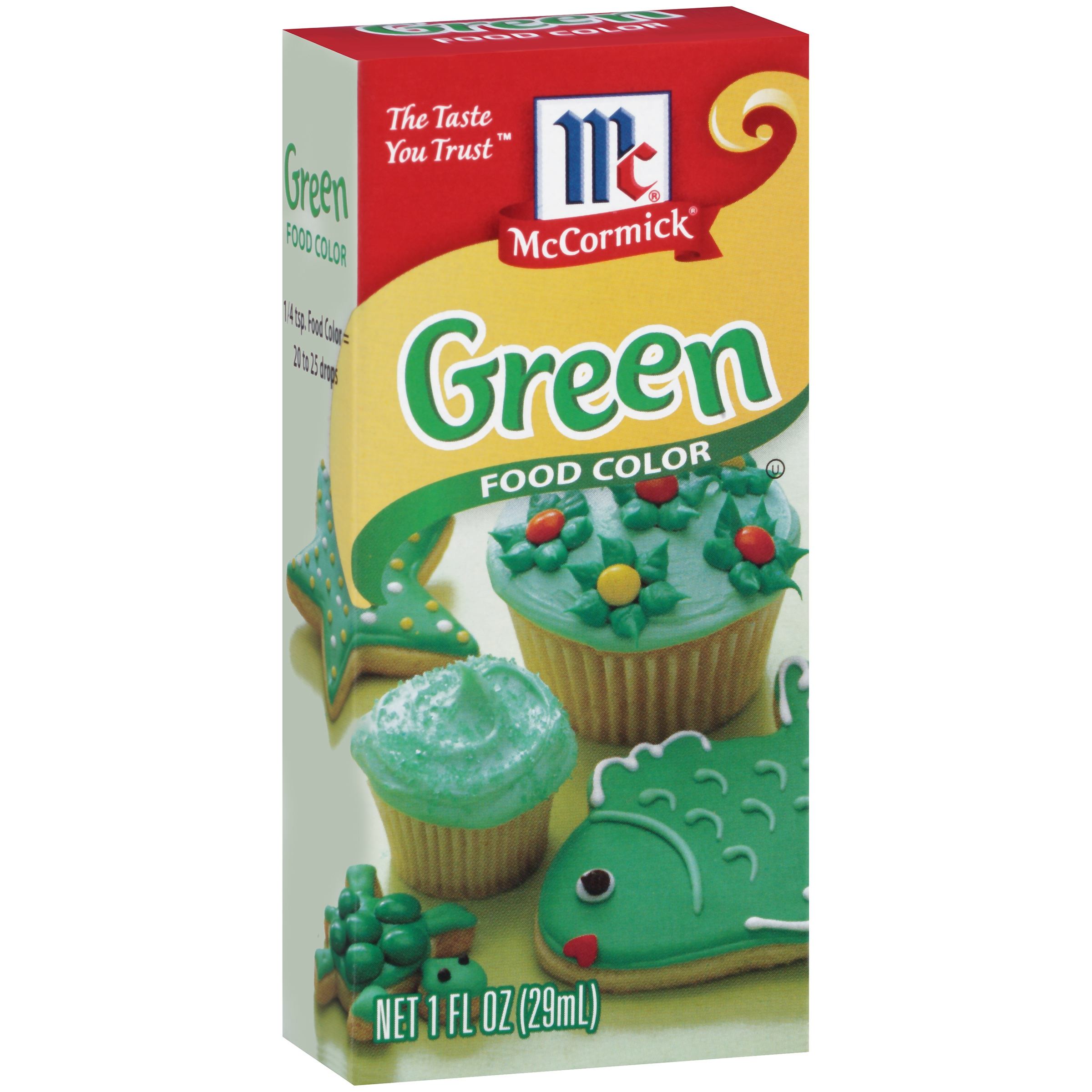 McCormick® Green Food Color, 1 fl oz - Walmart.com