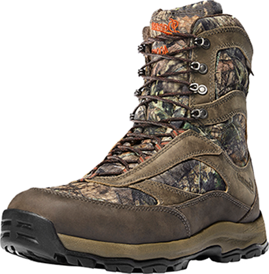 """Danner High Ground 8"""" 400g MOBU Country Camo Boots Size 8 1 Pair Boots by"""