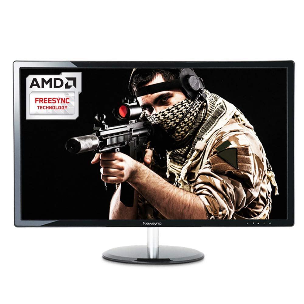 New NEWSYNC 24 inch Real 144Hz 1ms FHD Gaming Monitor (AMD FreeSync/Crosshairs / Flicker-Free & Low Blue Light/Hot Key/Crosshairs) DisplayPort 1.2V, HDMI 2.0V (NEWSYNC 24DP 144 Plus)
