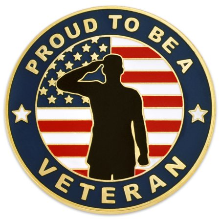 PinMart's Made In America Pround to be a Veteran Patriotic Lapel Pin](Grandma To Be Pin)