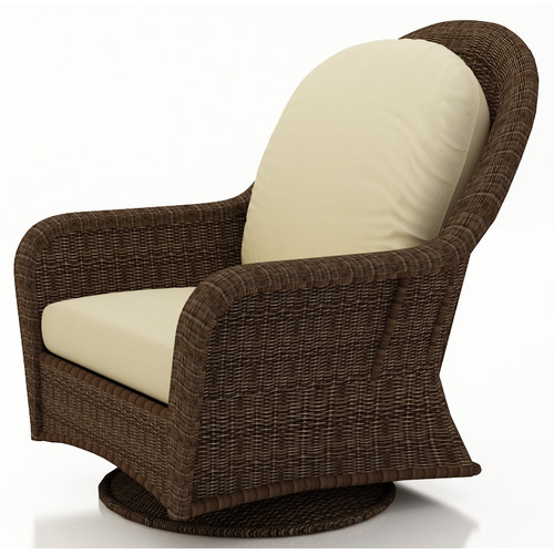 Forever Patio Winslow Swivel Glider Chair with Cushions