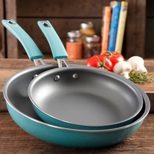 The Pioneer Woman Butterfly Vintage Speckle 2-Pack Non-Stick Frying Pan Set