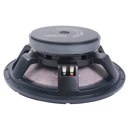 """Sound Town 15"""" 500W Cast Aluminum Frame Woofer, Low Frequency Driver, Replacement Woofer for PA/DJ Speakers or Subwoofer Cabinets (STLF-15120A)"""