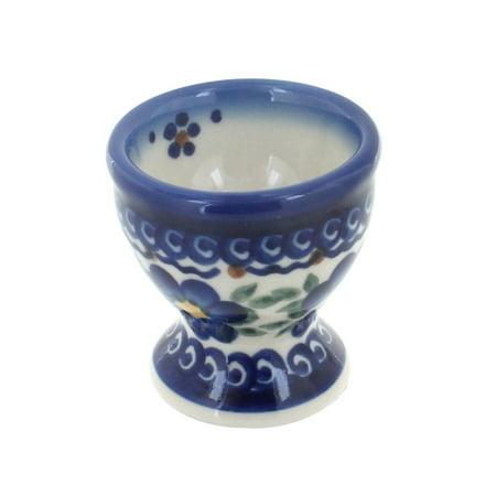 Polish Pottery Spring Blossom Egg Cup