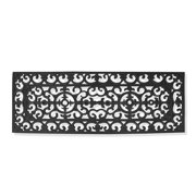 First Impression Audrey Rubber Entry Double Doormat (17.71 x 47.25)