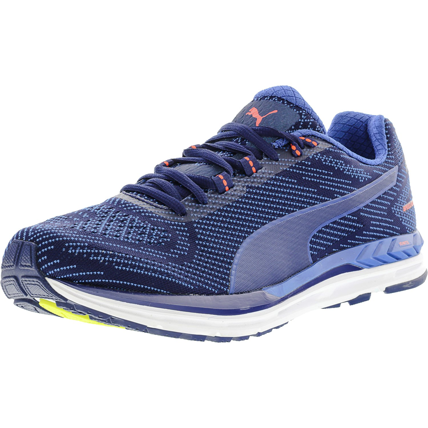 6a7007c37a4 Puma Men s Speed 600 S Ignite Blue Depths   Lapis Coral Ankle-High Running  Shoe - 10M