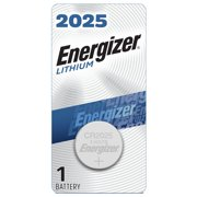Energizer 2025 Batteries, Lithium Coin Cell 3V Batteries (1 Pack)