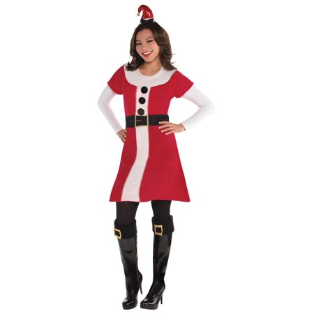 Santa Claus Sweater Womens Adult St Nick Christmas Costume - Nick Castle Halloween