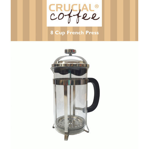 Crucial 8 Cup French Press Coffee Maker