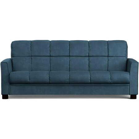 Mainstays Baja Futon Sofa Sleeper Bed, Multiple Colors