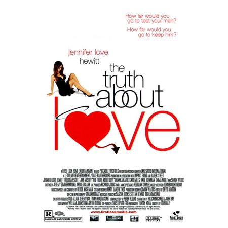 The Truth About Love POSTER Movie Mini - Quotes About Halloween And Love