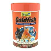 Tetra Goldfish Vitamin C Enriched Fish Food Flakes, 1 oz