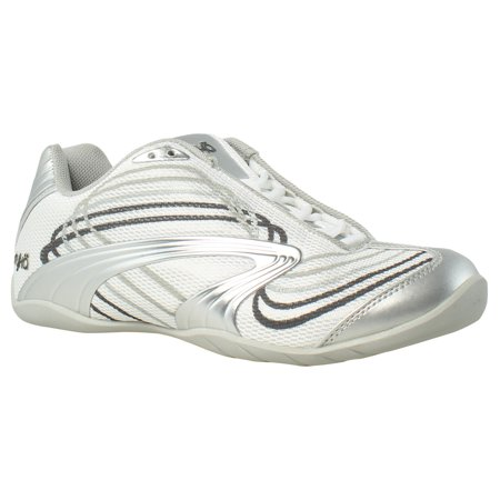 Ryka Womens Studio D Xt White/ChromeSilver/IronGrey/FrostGrey Cross Training ()