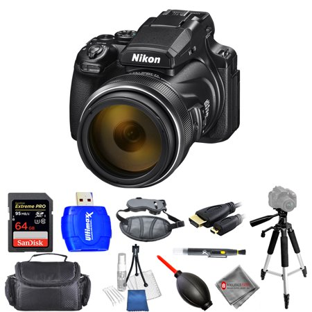 Nikon COOLPIX P1000 16MP 4K UHD Digital Camera #26522 Pro