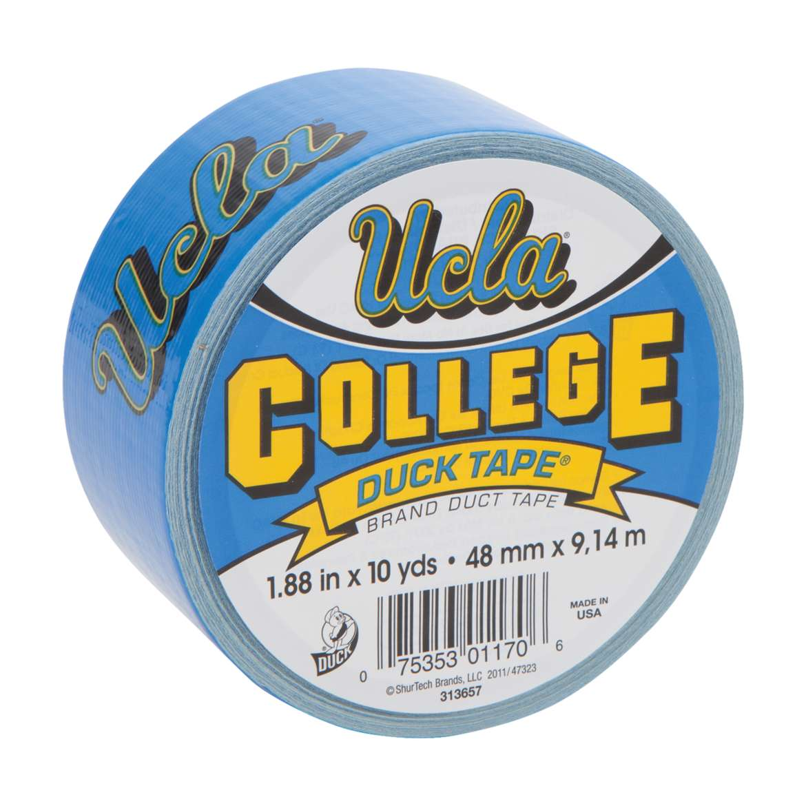 "Duck Brand College Logo Duck Tape, 1.88"" x 10 yard, UCLA Bruins"