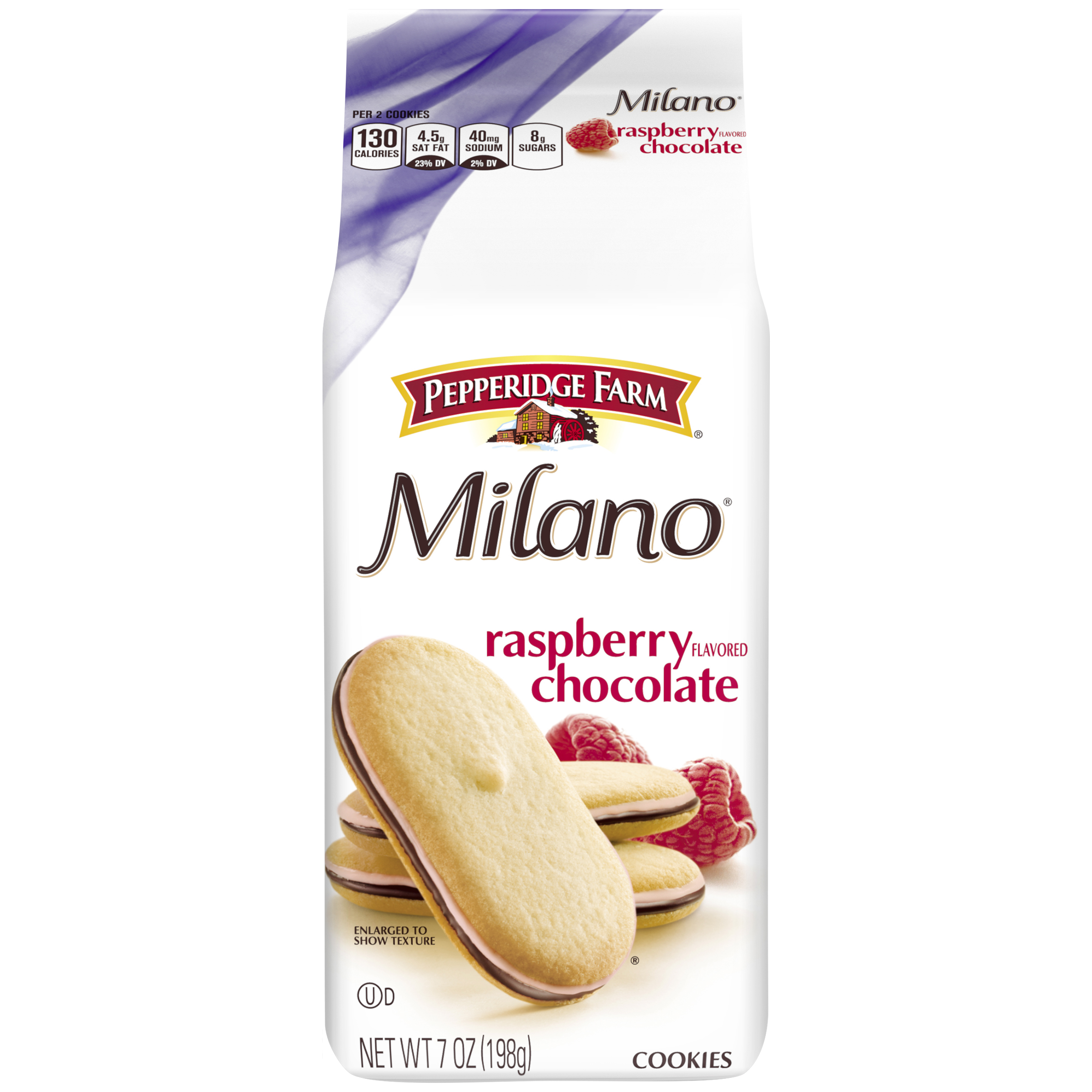 pepperidge farm milano raspberry cookies 7 oz bag walmart com