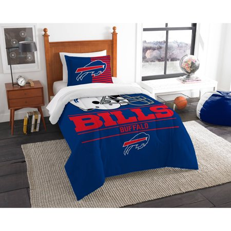 The Northwest 1NFL862000003RET NFL 862 Bills Draft Comforter Set, Twin ()
