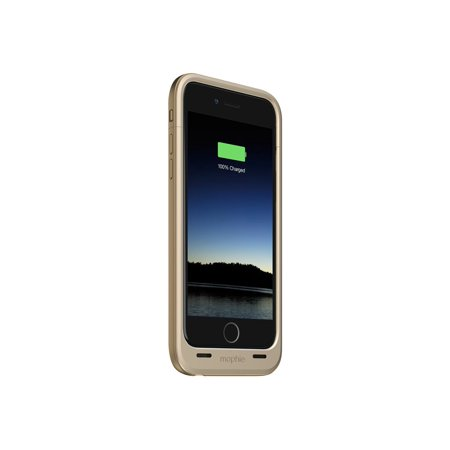 lowest price 72909 a197e Mophie Juice Pack Plus - External battery pack Li-pol 3300 mAh (Lightning)  - on cable: Micro-USB - gold - for Apple iPhone 6