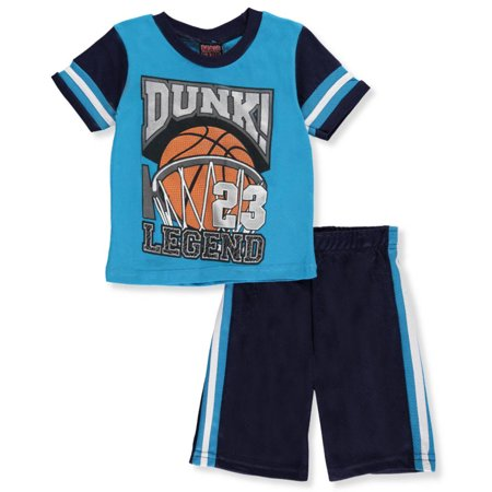 bf7f862aa24e Mad Game - Mad Game Little Boys  Toddler 2-Piece Short Set Outfit (Sizes 2T  - 4T) - Walmart.com