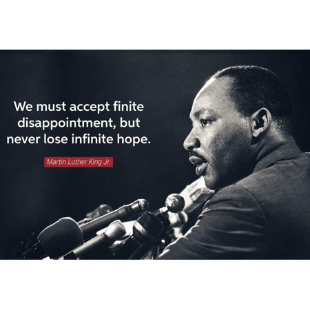 Laminated Poster Martin Luther King Jr Dream Speech Quote Mlk Poster Print 24 x