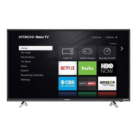 "Refurbished Hitachi 50"" Class FHD (1080P) LED TV with Roku (50R5)"