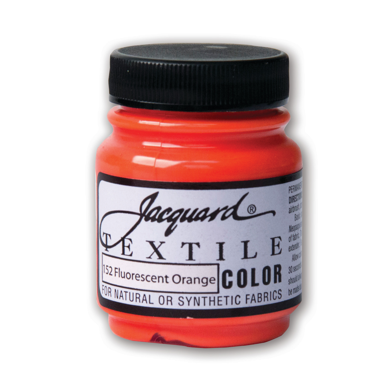 Jacquard Textile Color, 2.25 oz., Fluorescent Orange