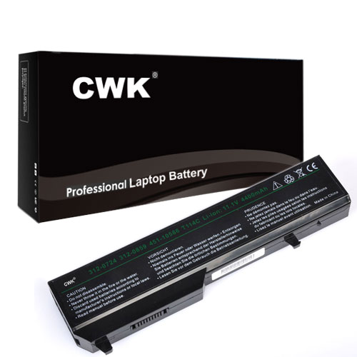 CWK High Performance 5200mAh/58WH Laptop Battery for Dell Vostro 1310 1510 1520 2510 1320 PP36L PP36S -Upgraded With Higher Quality Samsung Cells yet has Same Size & Shape as an OEM Battery