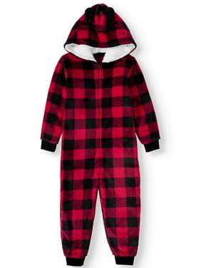 Matching Family Christmas Pajamas Toddler Boy or Girl Unisex Buffalo Union Suit Sleeper