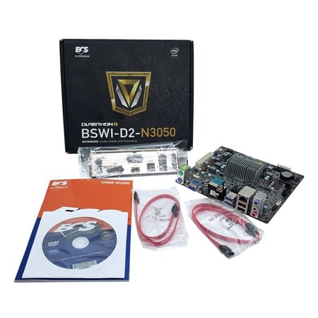 BSWI-D2-N3050 V1.0 N3050 ECS Intel Celeron Processor DDR3 SATA3 Motherboard/Cpu Motherboard & CPU - Ready To Go Combos ()