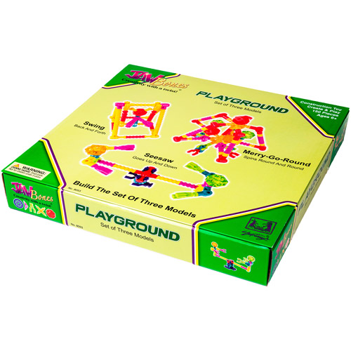 Jawbones Playground Boxed Set, 150 Pieces