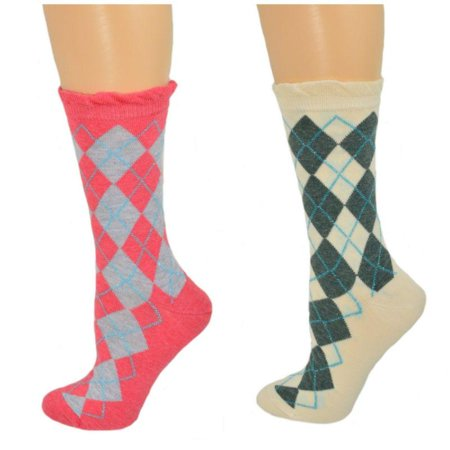 Argyle Crew Cotton Lurex Sparkle Socks W3035](Michael Jackson Sparkle Socks)
