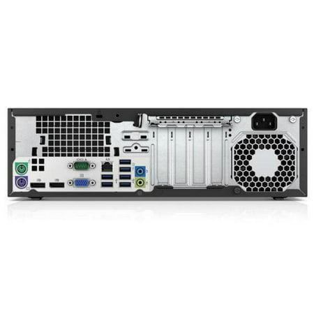 HP EliteDesk 800 G1 SFF, Intel i5, 8GB RAM, 500GB HDD, Windows 10 Home,  Certified Refurbished, 1 Year Warranty