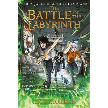 Percy Jackson and the Olympians the Battle of the Labyrinth: The Graphic Novel (Best Hardcover Graphic Novels)