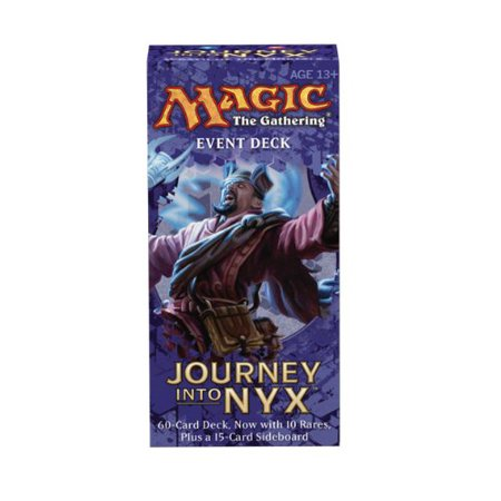 Magic: the Gathering - Journey Into Nyx - Event Deck - Wrath of the Mortals, Magic: The Gathering,Strategy Games,2-Player Games,Hand Management -.., By Wizards of the Coast Ship from (Magic The Gathering Best Event Deck)