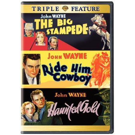 Ride Him Cowboy / The Big Stampede / Haunted Gold (DVD) - The Haunted History Of Halloween 2017