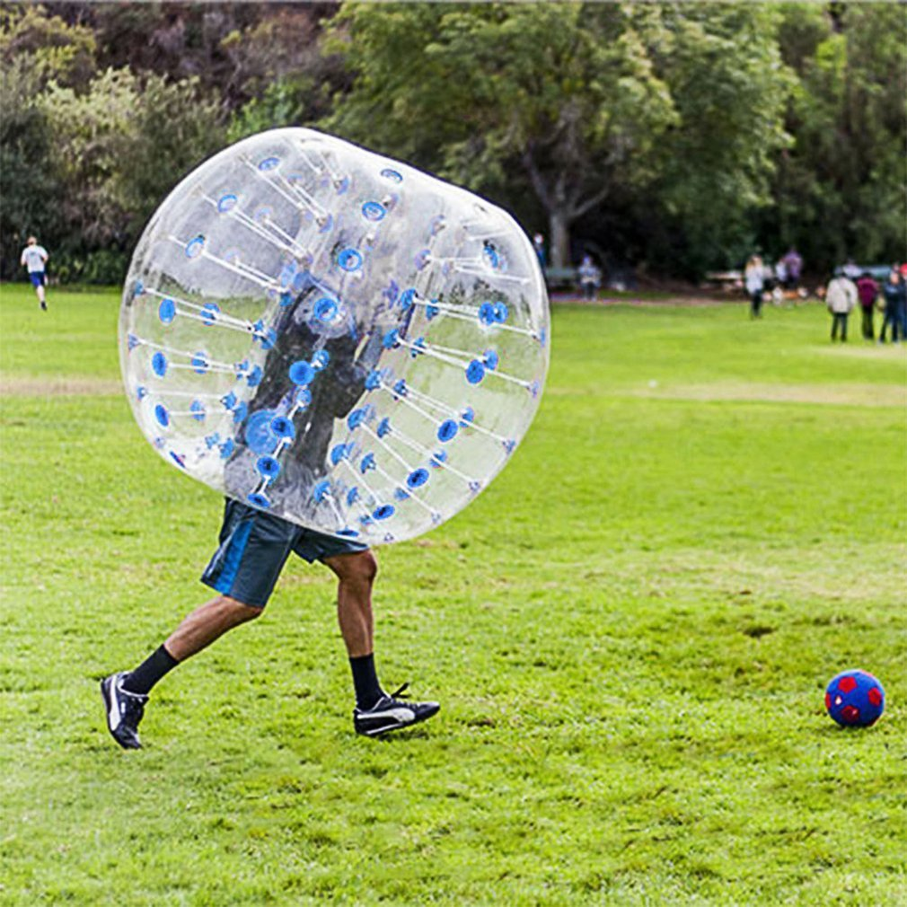 Outdoor Human Knocker Inflatable Bumper Bubble Soccer Zorb Ball For Adult by