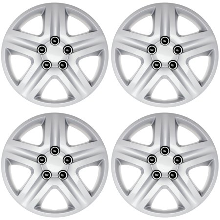Chevy Wheel Covers (CoverTrend (Set of 4 Pack) Aftermarket fits 2006, 2007, 2008, 2009, 2010, 2011 Chevy Impala & 2006, 2007 Chevy Monte Carlo 16
