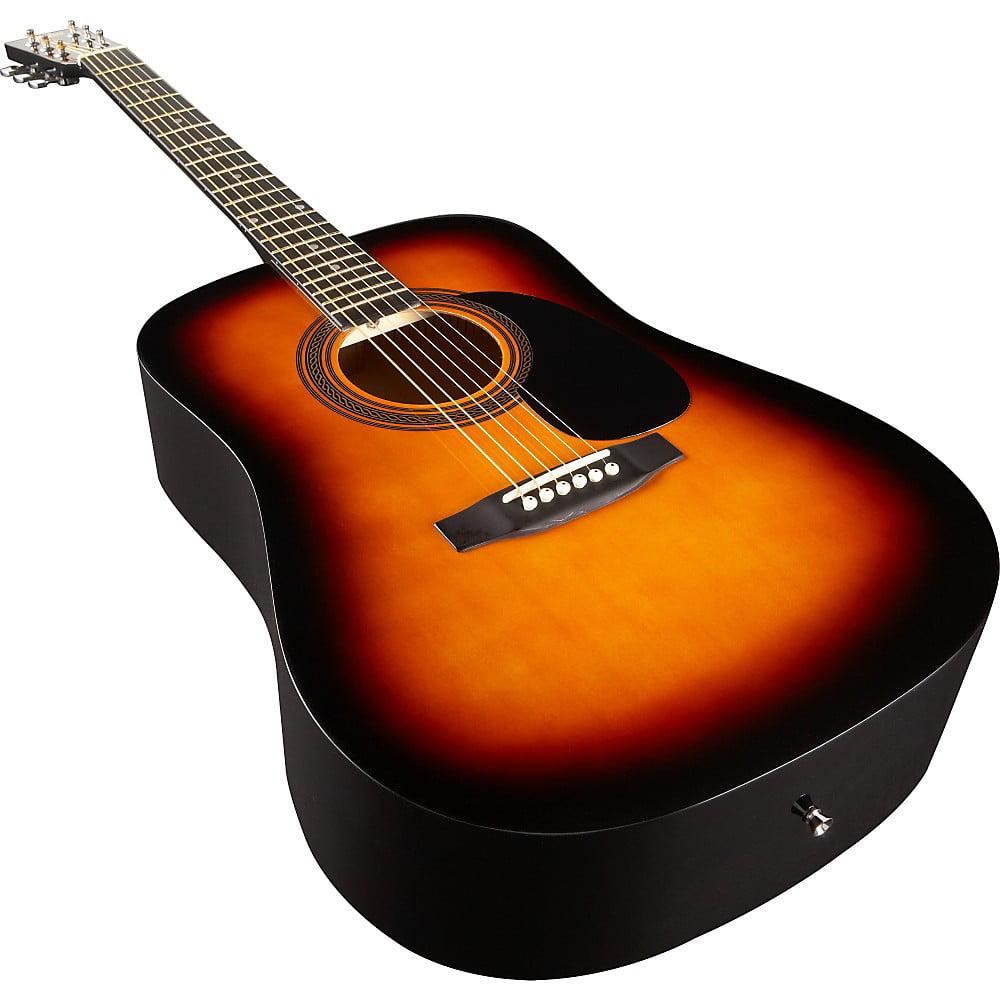 Rogue Ra 090 Dreadnought Acoustic Guitar Walmart Com