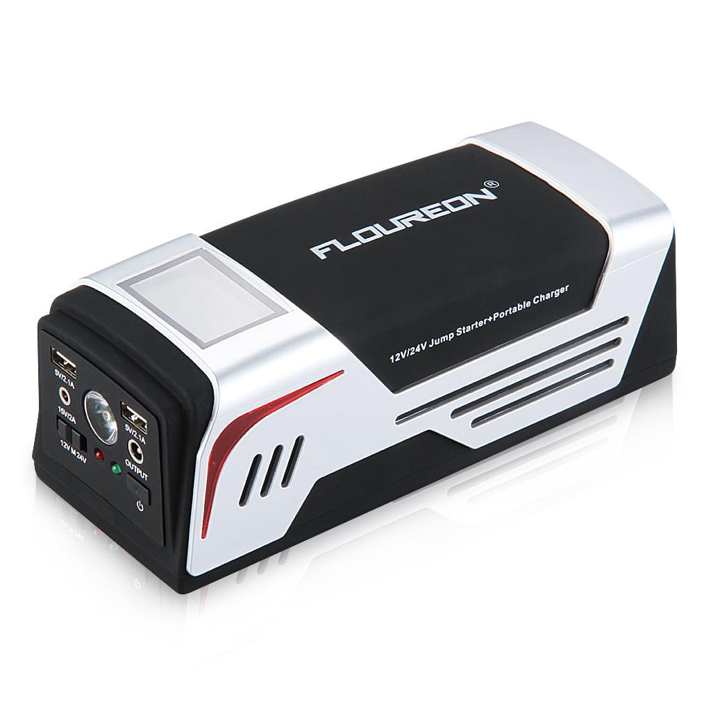 Car Battery Charger 12V 24V Portable Emergency Jump Starter Multi Power Bank NEW