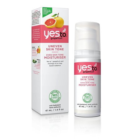 Yes To Grapefruit Uneven Skin Tone, Even Skin Tone Moisturizer, 1.4 Oz + Facial Hair Remover