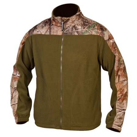 Realtree camo accented fleece jacket for Realtree camo flannel shirt