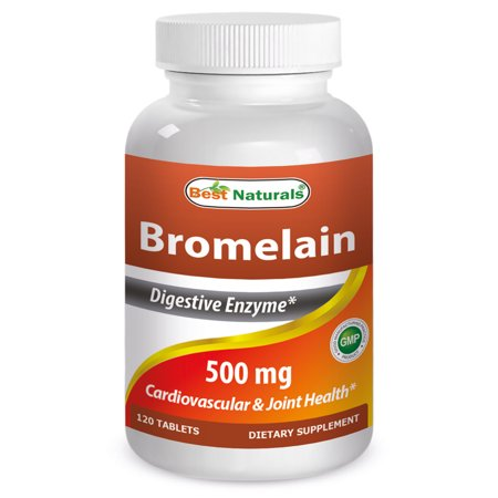 Best Naturals Bromelain 500 mg 120 Tablets