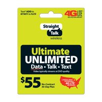 product image straight talk ultimate unlimited prepaid phone plan for no contract cell phone service unlimited - Prepaid Long Distance Phone Cards For Landlines